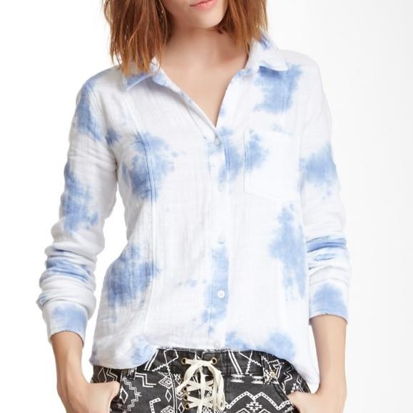 Billabong So Happening Tie-dye Shirt size Large